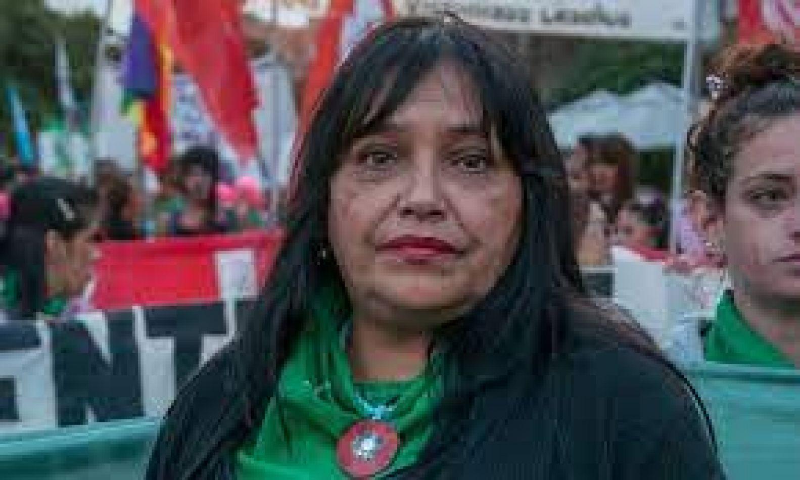 """Mónica Menini: """"La ley del aborto está dirigida como derecho a la mujer y a las personas gestantes"""""""