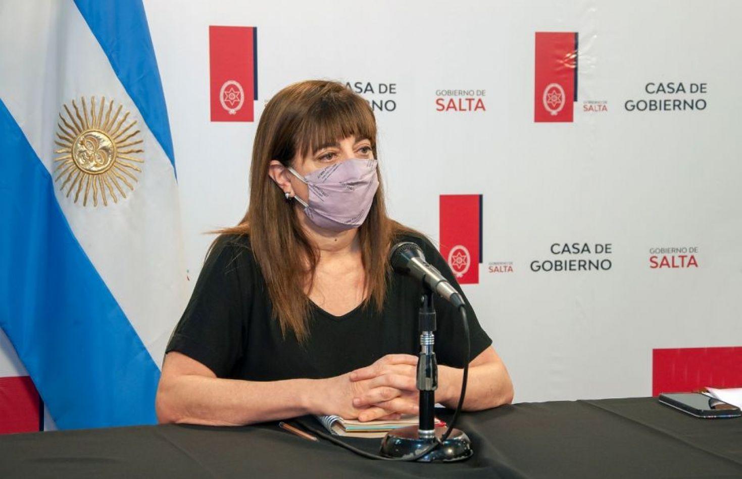 """Dra. Adriana Jure: """"Se va a hacer un empadronamiento de las personas entre 18 y 39 años con intención de vacunarse """""""