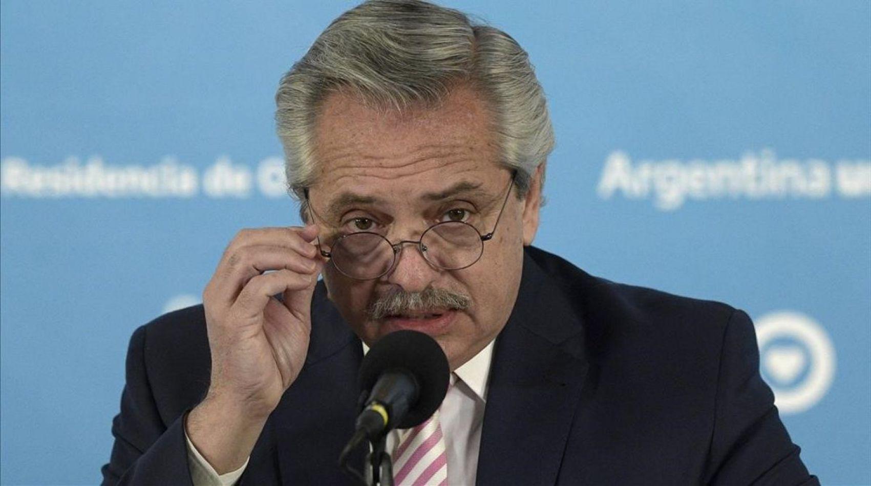 "Tras su polémica frase, en Brasil acusan de ""racista"" a Alberto Fernández"