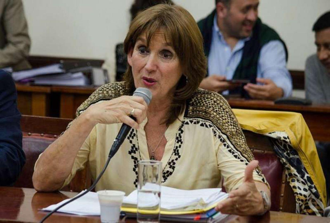 """Virginia Cornejo: """"Los habitantes de Los Toldos están totalmente desprotegidos"""""""