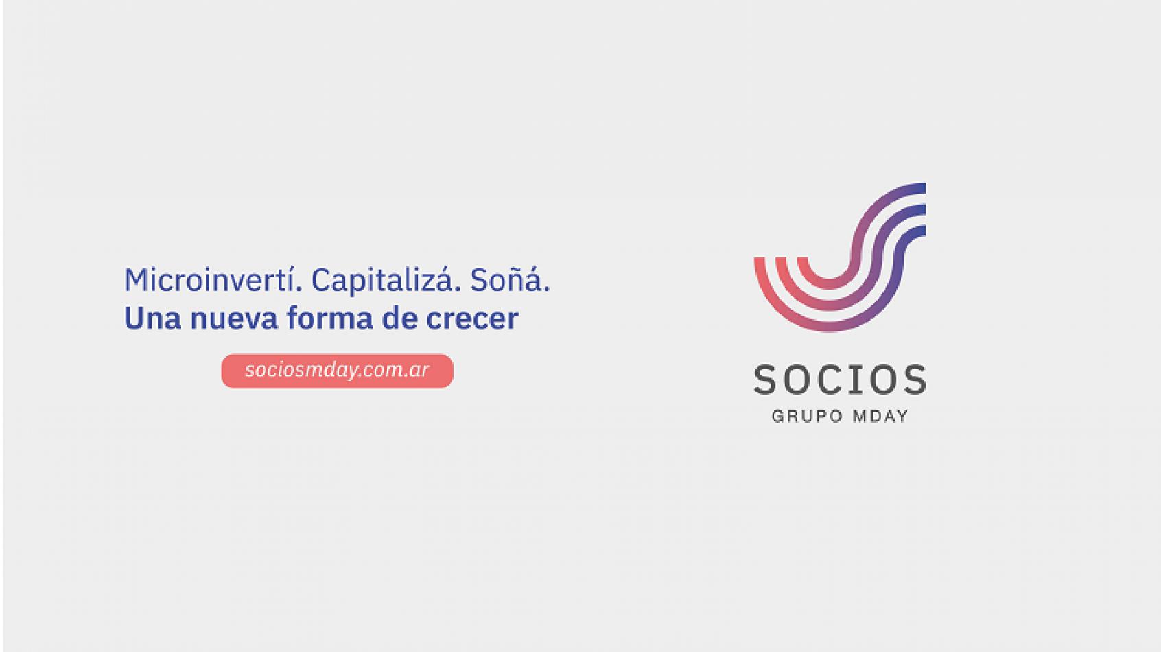 Lanzan la plataforma de microinversión digital Socios MDay