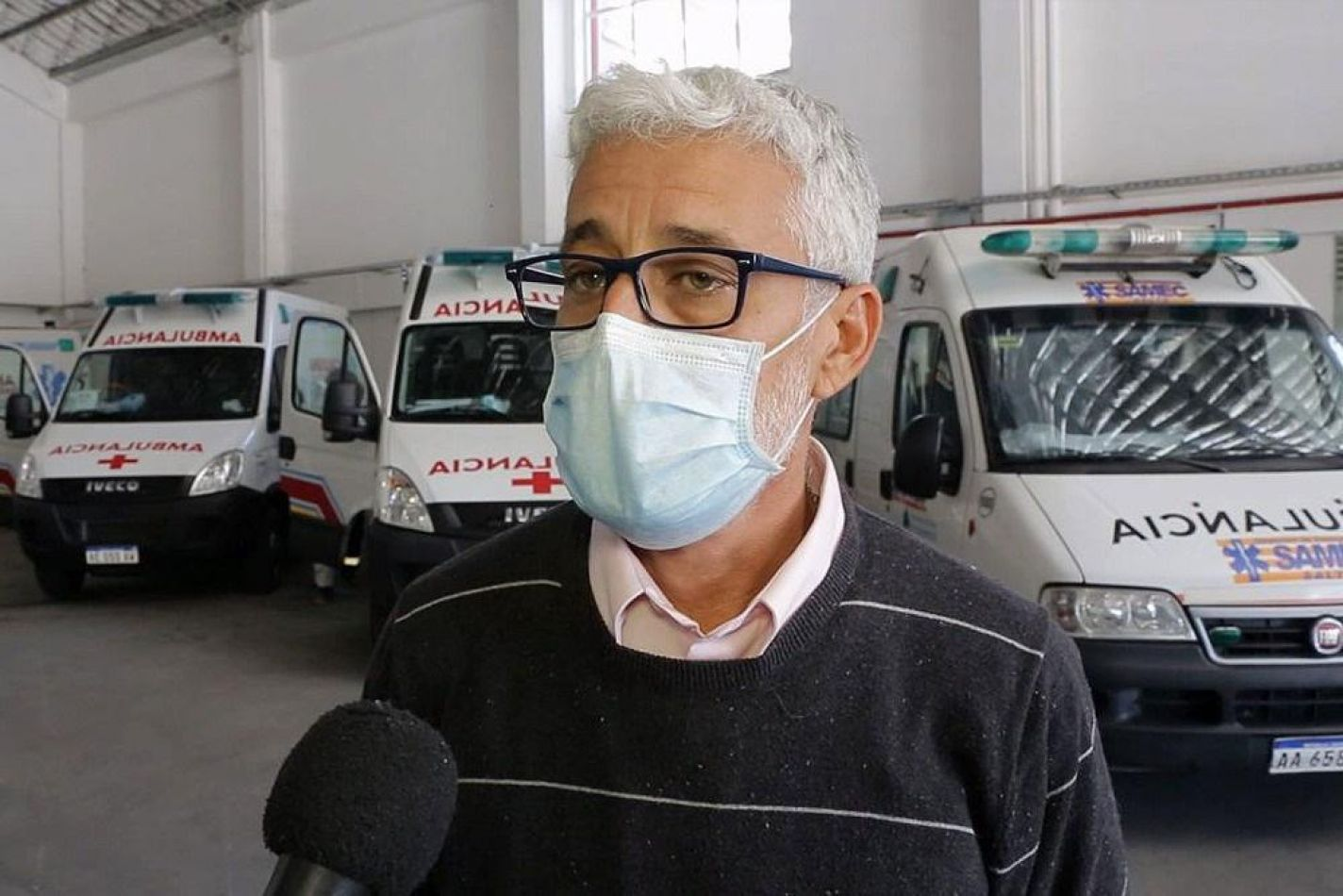 """Fabián Arguello: """"El SAMEC ha estado trabajando con el 100% de su capacidad"""""""