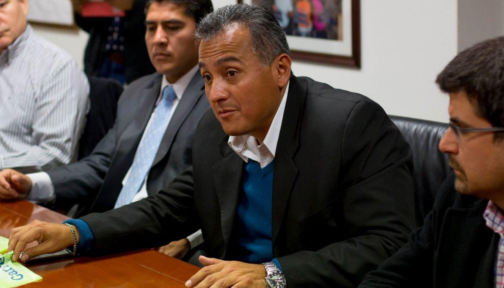 """Federico Casas: """"Es una premisa de esta gestión que las obras se hagan con calidad"""""""