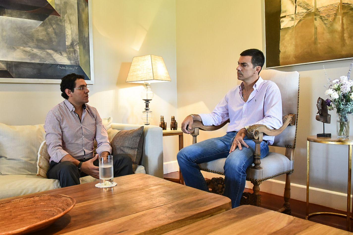 Urtubey y el intendente de Rosario de la Frontera evaluaron el desarrollo económico y turístico del sur provincial