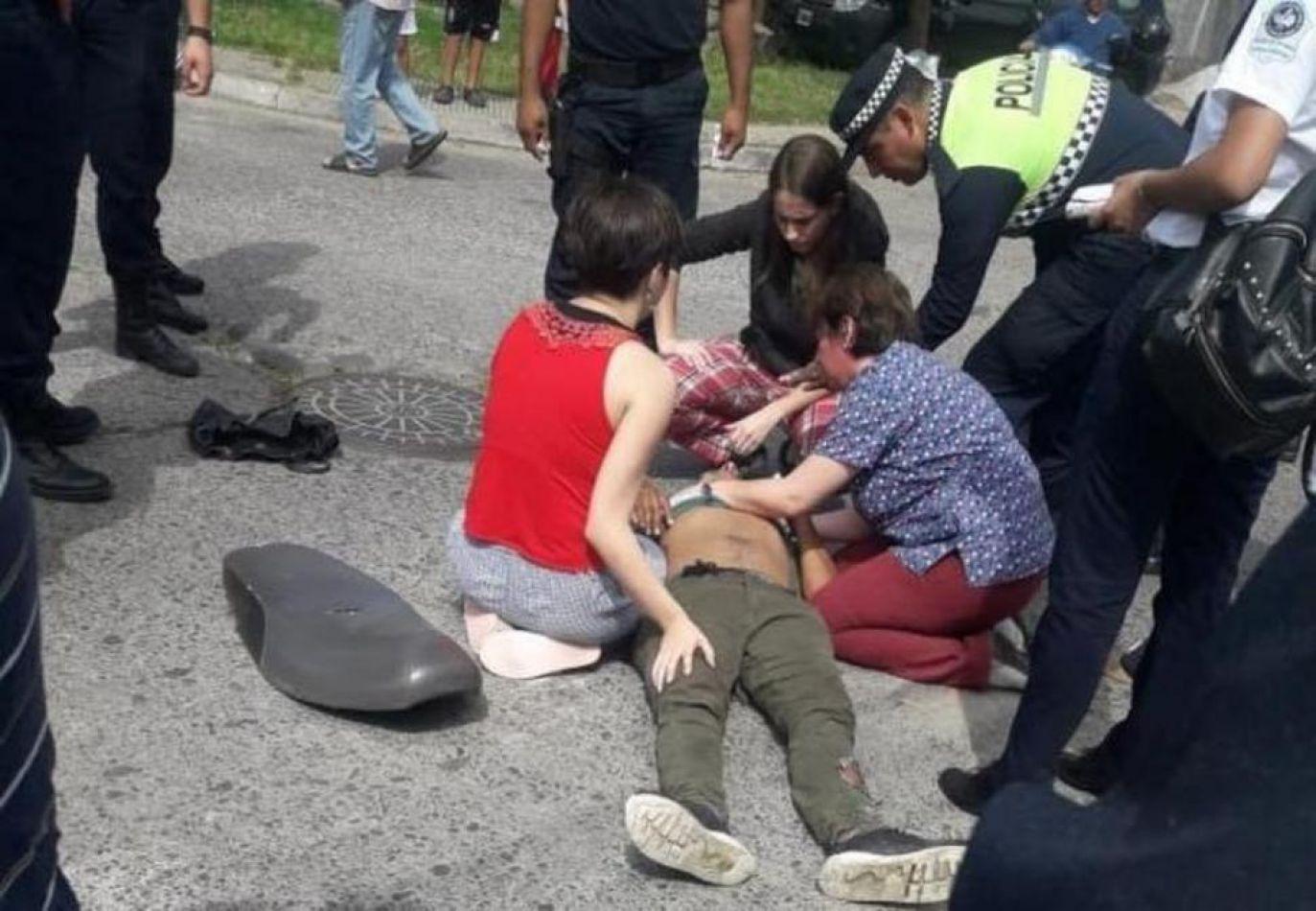 """""""Me prometió que no va a volver a robar"""", dijo la médica que auxilió al motochorro que la asaltó"""